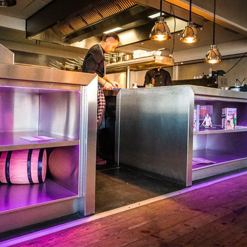 horeca keuken beachclub