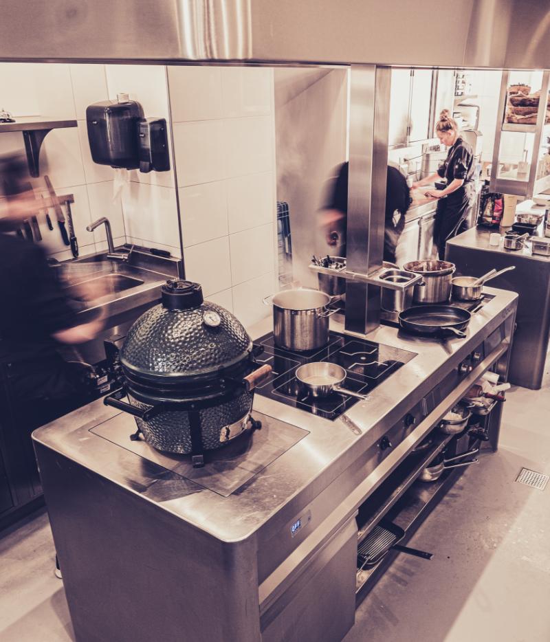 Qook professionele horeca keukens
